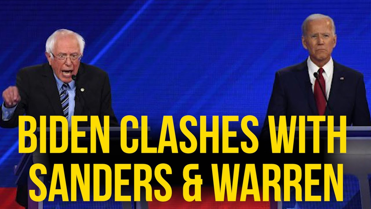 Biden Clashes With Sanders and Warren Over Medicare for All – YouTube