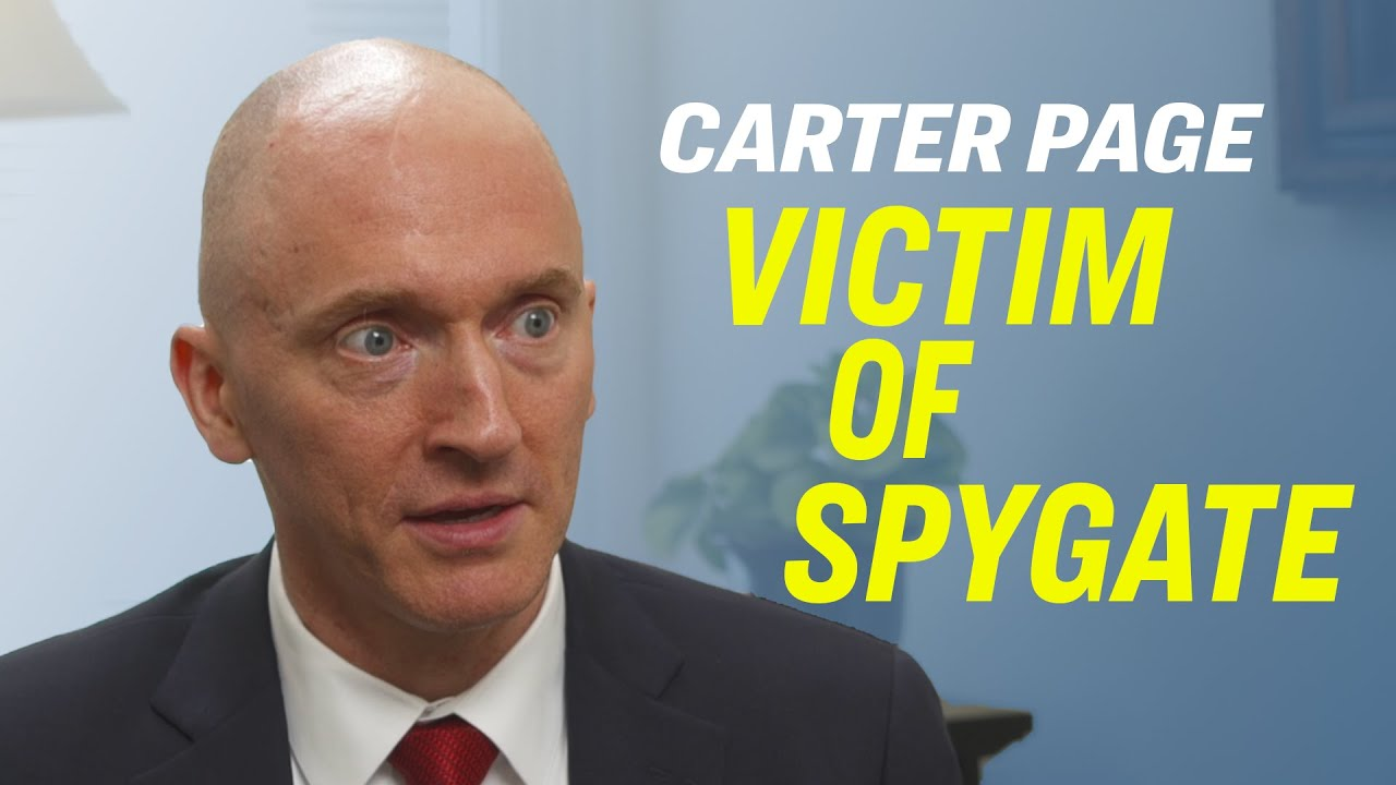 "Carter Page: Spygate, FISA Warrants, Mueller Investigation, ""Trump Movement,"" & Declassification – YouTube"