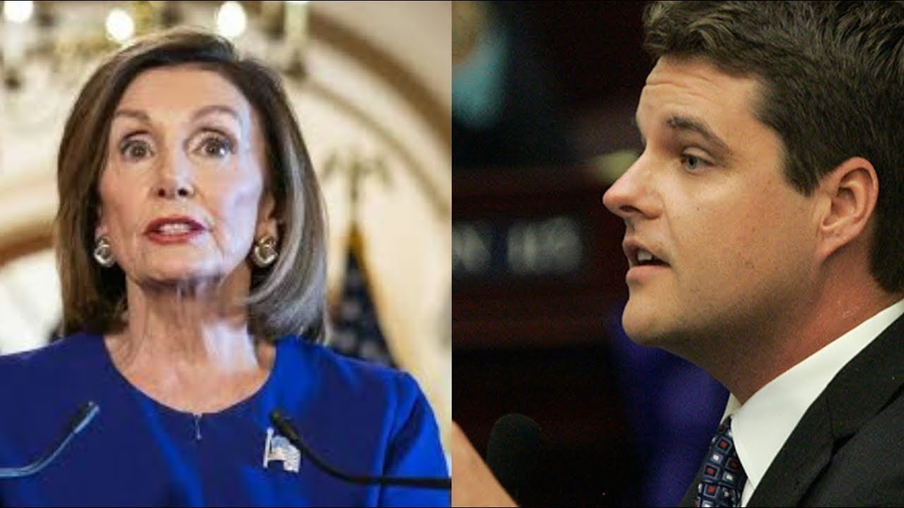 NEW! SEE CONGRESSMAN JUST SAID TO NANCY PELOSI ON TRUMP IMPEACHMENT – YouTube