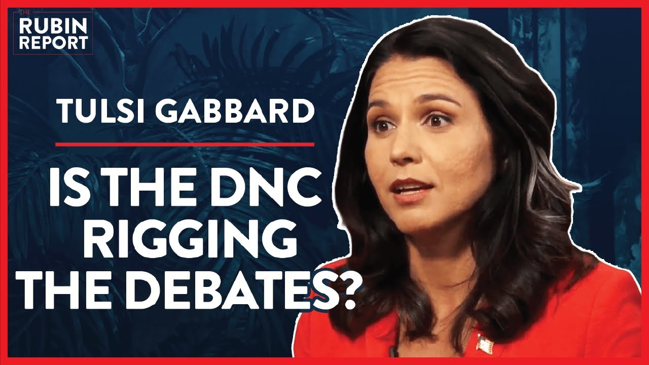 Rigged Debates, Media Smears, & Taking On The DNC | Tulsi Gabbard | POLITICS | Rubin Report – YouTube