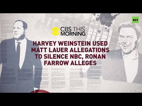 NBC & Clinton tried to kill Weinstein scoop – ex-NBC journalist – YouTube