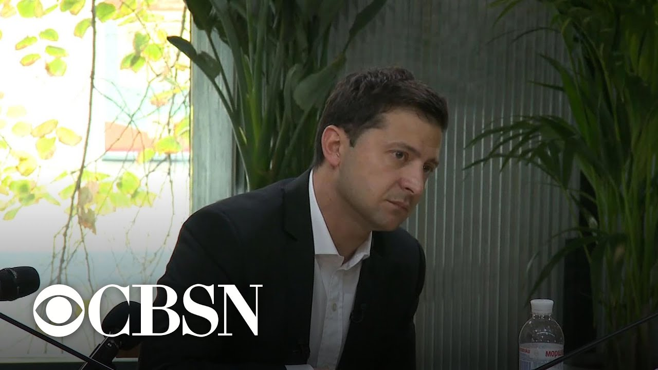 """Zelensky says there was """"no blackmail"""" in call with Trump – YouTube"""