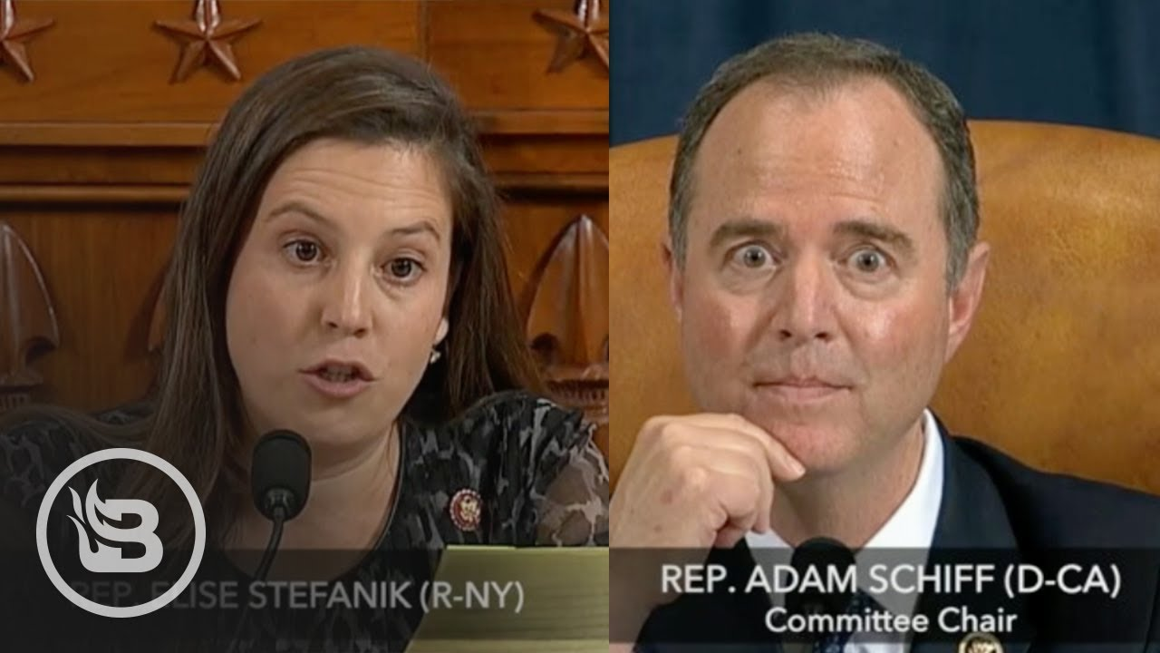 Rep. Stefanik Blows Apart Schiff's Impeachment Narrative: No Bribery, No Quid Pro Quo, No Treason – YouTube