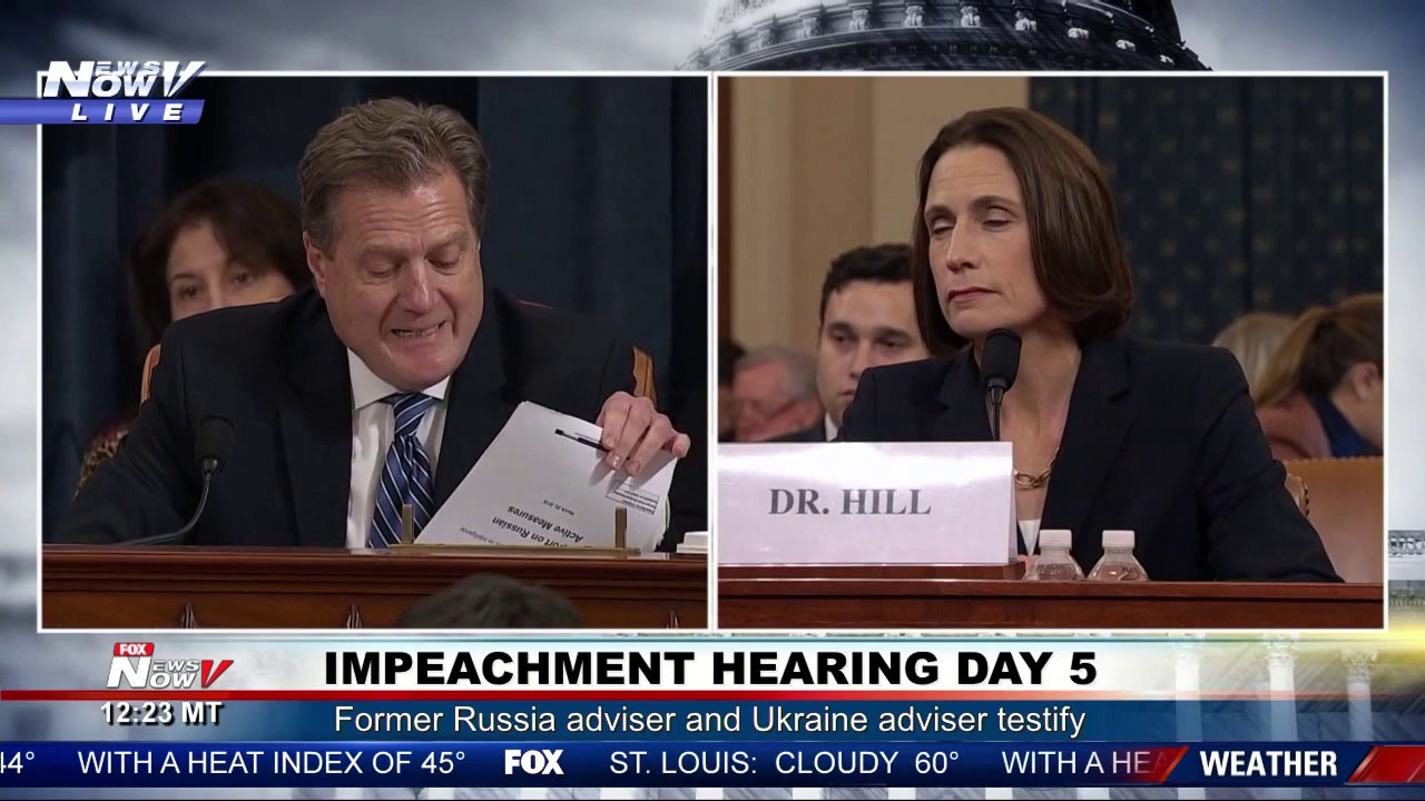 """YOU GUYS WANNA BE THE LAUGHING STOCK OF HISTORY?"" Mike Turner on Impeachment Hearing Day 5 – YouTube"