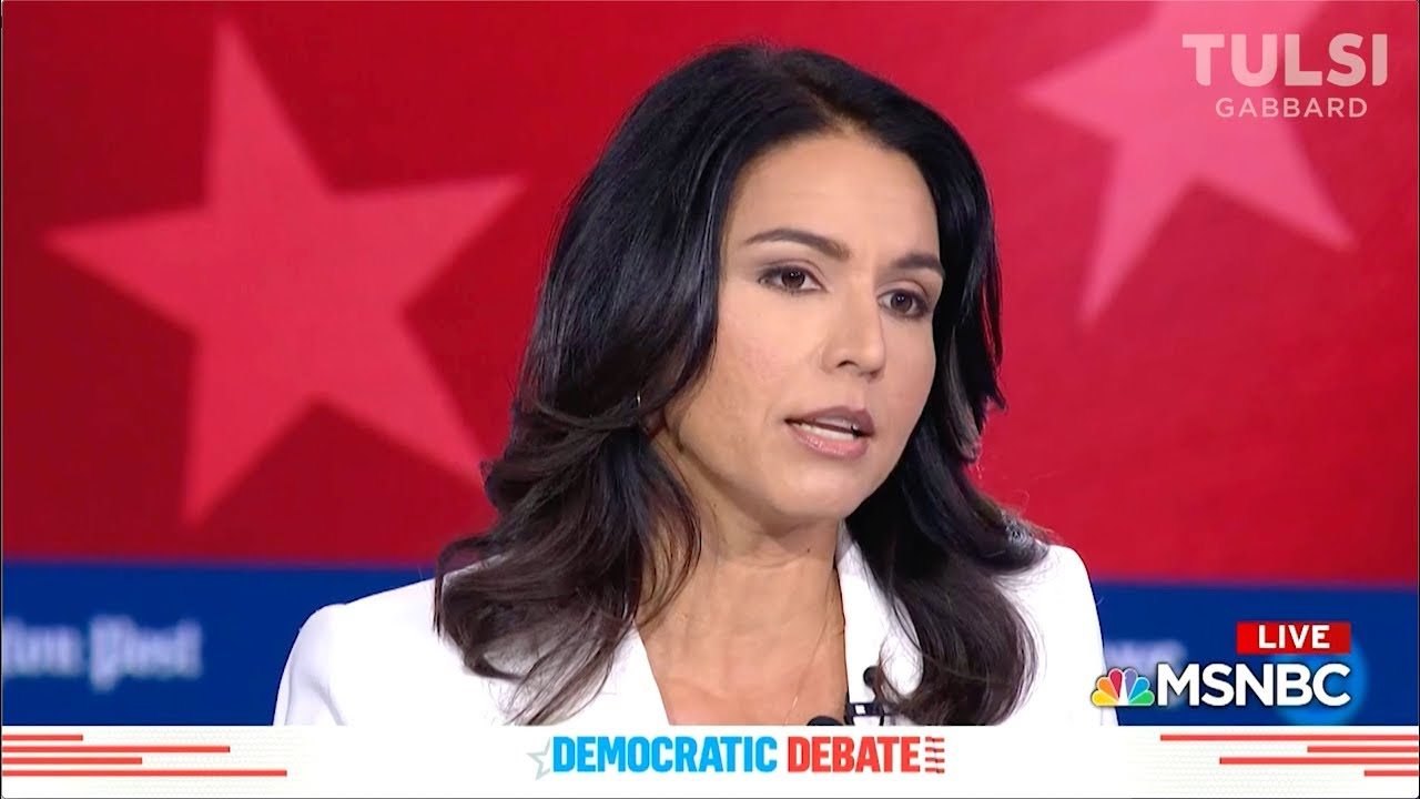 Watch the 8 minutes that has America searching Tulsi Gabbard – YouTube