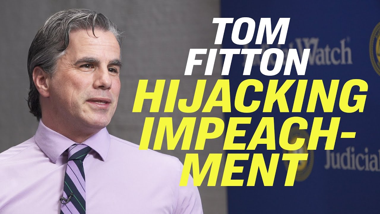 "Impeachment Resolution is a ""Coup Resolution""—Judicial Watch's Tom Fitton 
