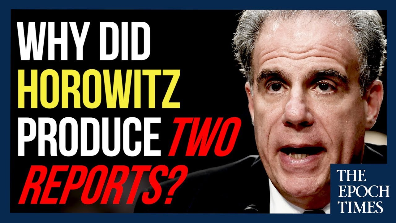 Why Did Horowitz Produce Two Reports? – YouTube