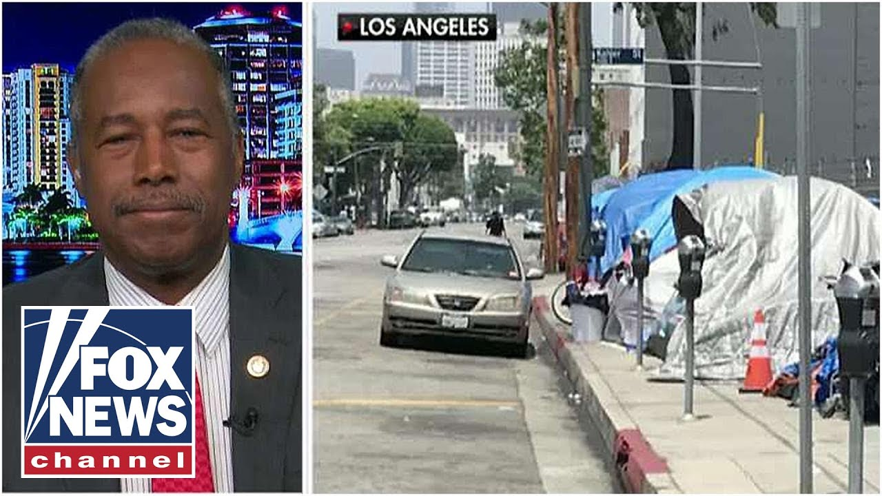Secretary Ben Carson says California's homeless crisis is not a partisan issue – YouTube