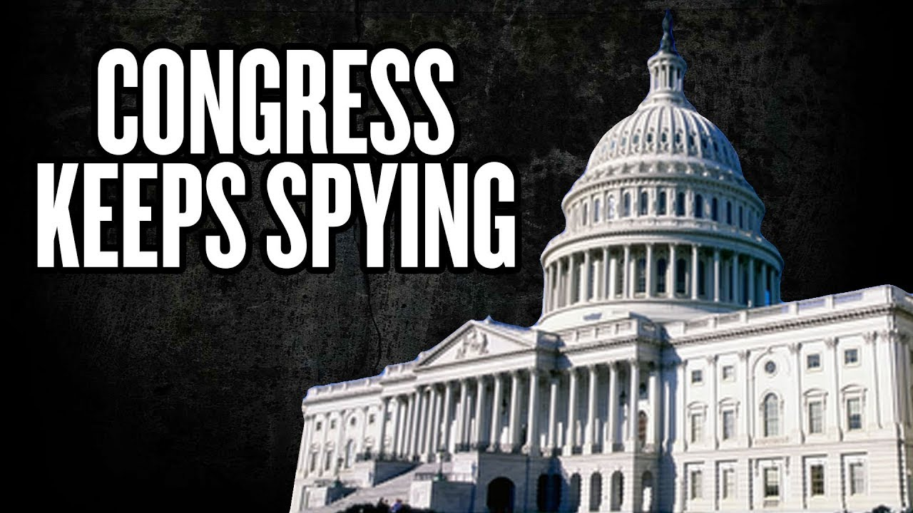 Congress Quietly Continues Mass Surveillance of Americans – YouTube