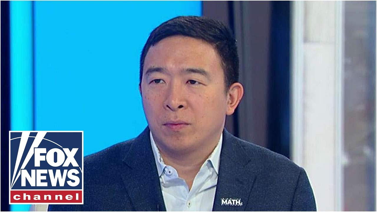 Andrew Yang on Dems' obsession with impeachment, his approach to politics – YouTube