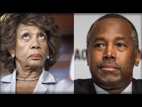 Furious Ben Carson Gets Up and DESTROY Maxine Waters beyond recognition – YouTube