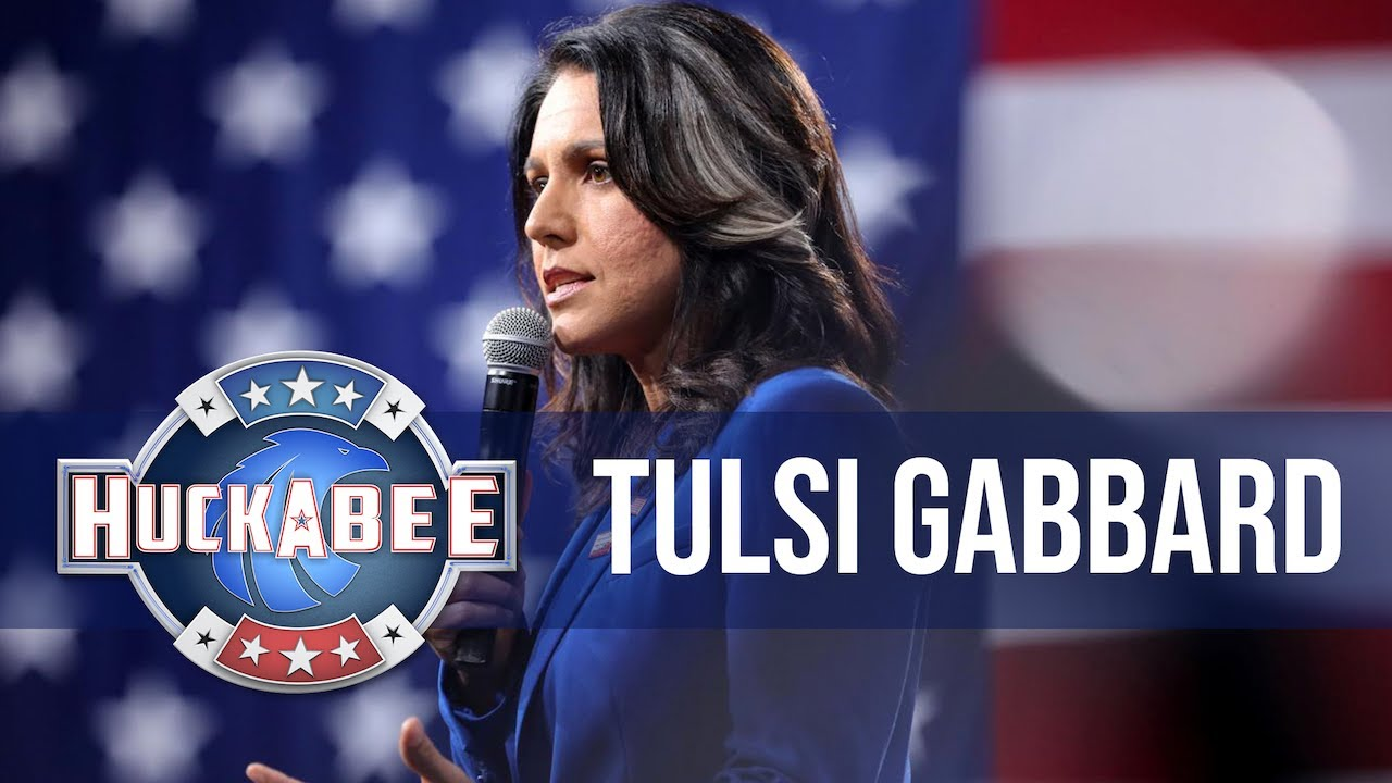 Giving Tulsi Gabbard More Talking Time Than MSNBC | Huckabee – YouTube