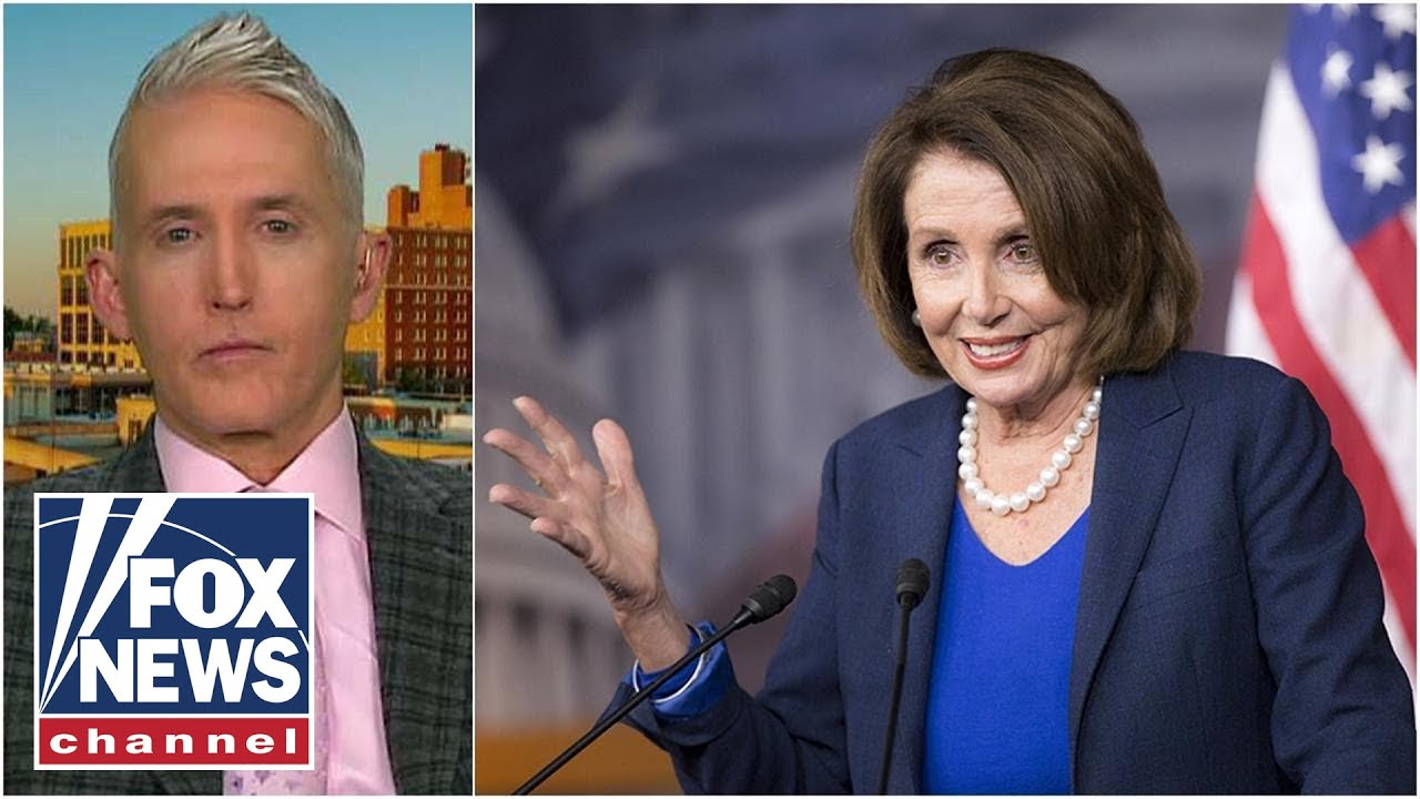 Trey Gowdy sounds off on Pelosi delaying Senate impeachment – YouTube