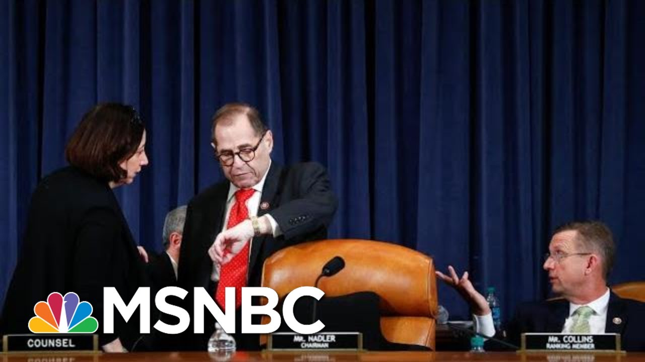 Jerry Nadler Shocks GOP With Surprise End To Trump Impeachment Debate | The 11th Hour | MSNBC – YouTube
