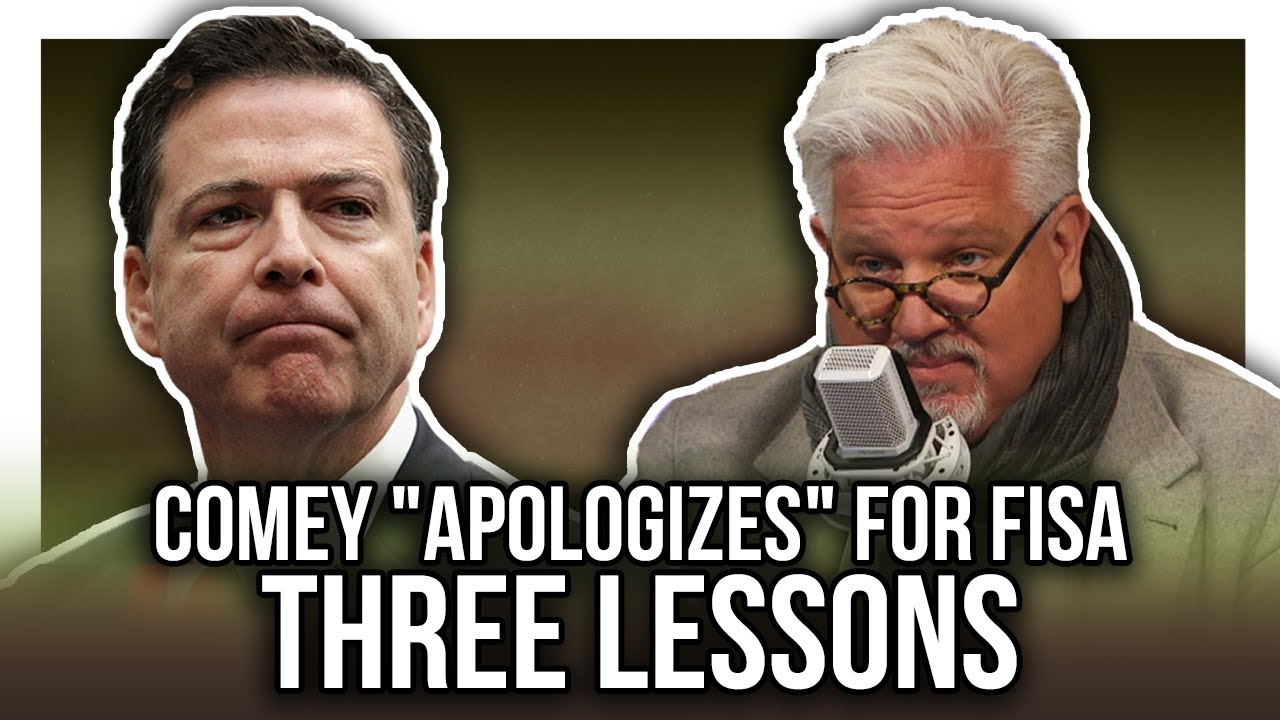 JAMES COMEY APOLOGY FOR FBI, FISA COURT ABUSE: Three Lessons Moving Forward from IG Report – YouTube