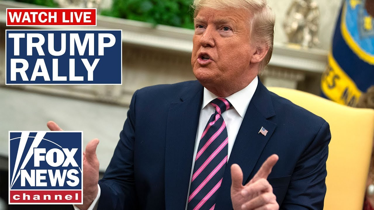 Live: Trump holds rally in Michigan as House debates impeachment – YouTube