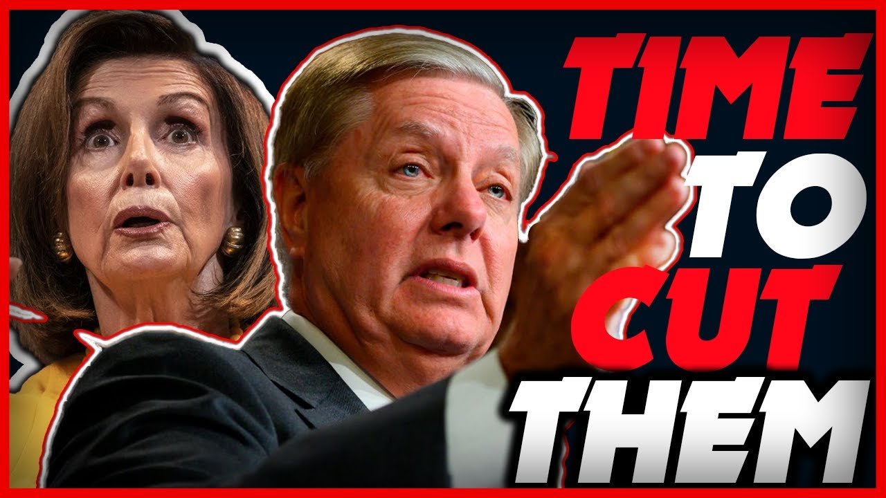 """Sen. Lindsey Graham Fires Back Saying """"Time to Cut Them Off"""" – YouTube"""