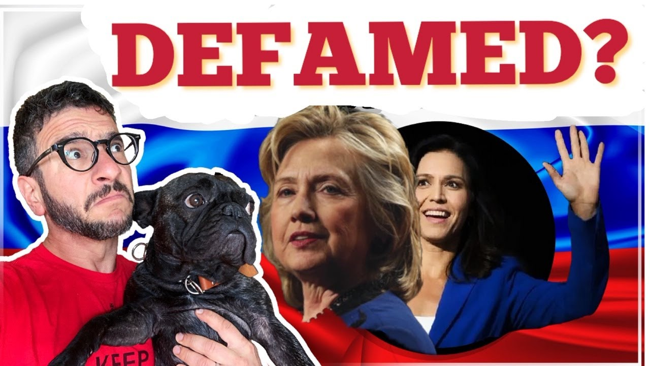 Tulsi Gabbard Sues Hillary Clinton for Defamation – Viva Frei Vlawg – YouTube