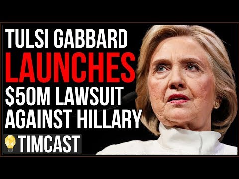 Tulsi Gabbard Launches $50M Lawsuit Against Hillary Clinton For Defamation Over INSANE Russia Theory – YouTube