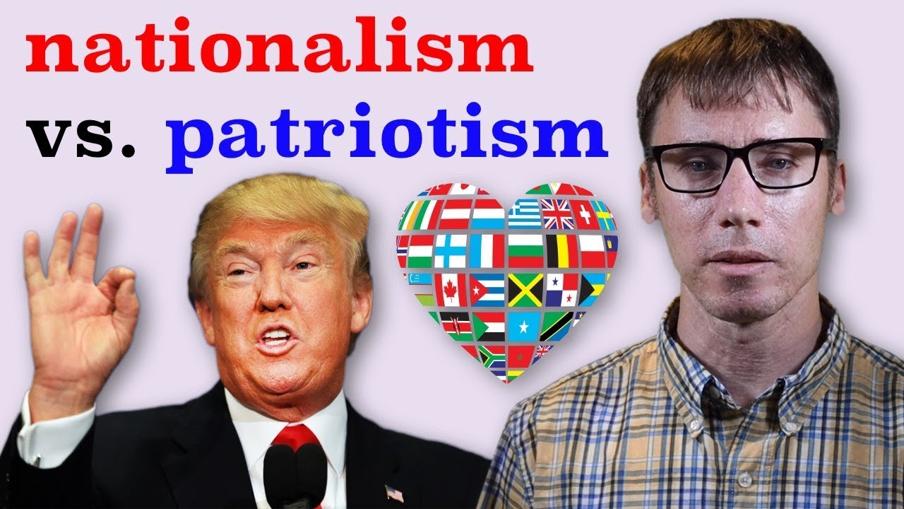 The Difference Between Nationalism and Patriotism – YouTube