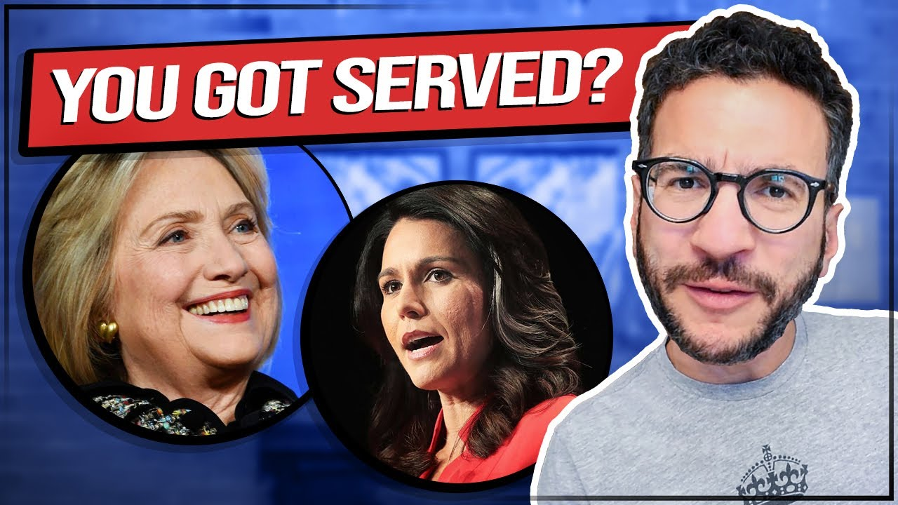Hillary Clinton REFUSES Service of Gabbard Lawsuit – Lawyer Explains – Viva Frei Vlawg