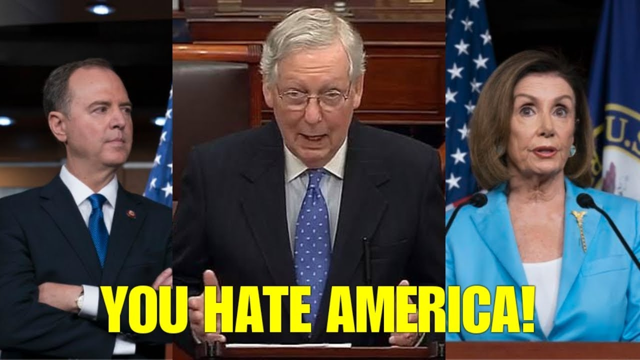 NEW! SEE WHAT MITCH MCCONNELL JUST SAID TO THE ENTIRE DEMOCRATS IN CONGRESS ON WAR POWER RESOLUTION – YouTube