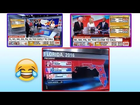 The *INCREDIBLE* moment CNN realizes Trump will WIN FLORIDA!! – YouTube