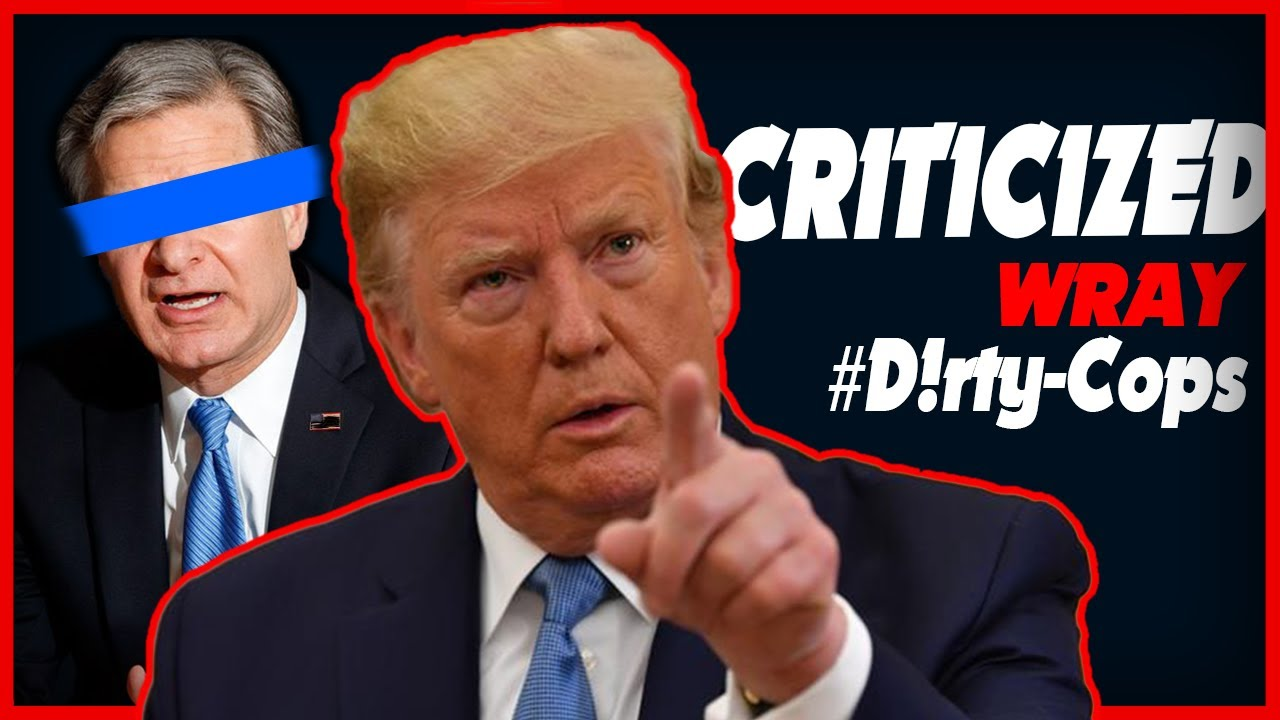 President Trump Criticizes Christopher Wray For Letting #D!rty_Cops Skate Despite Carter Page Affair – YouTube