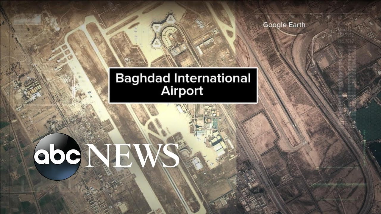 Leader of Iran's elite Quds Force killed in airstrike near Baghdad airport – YouTube