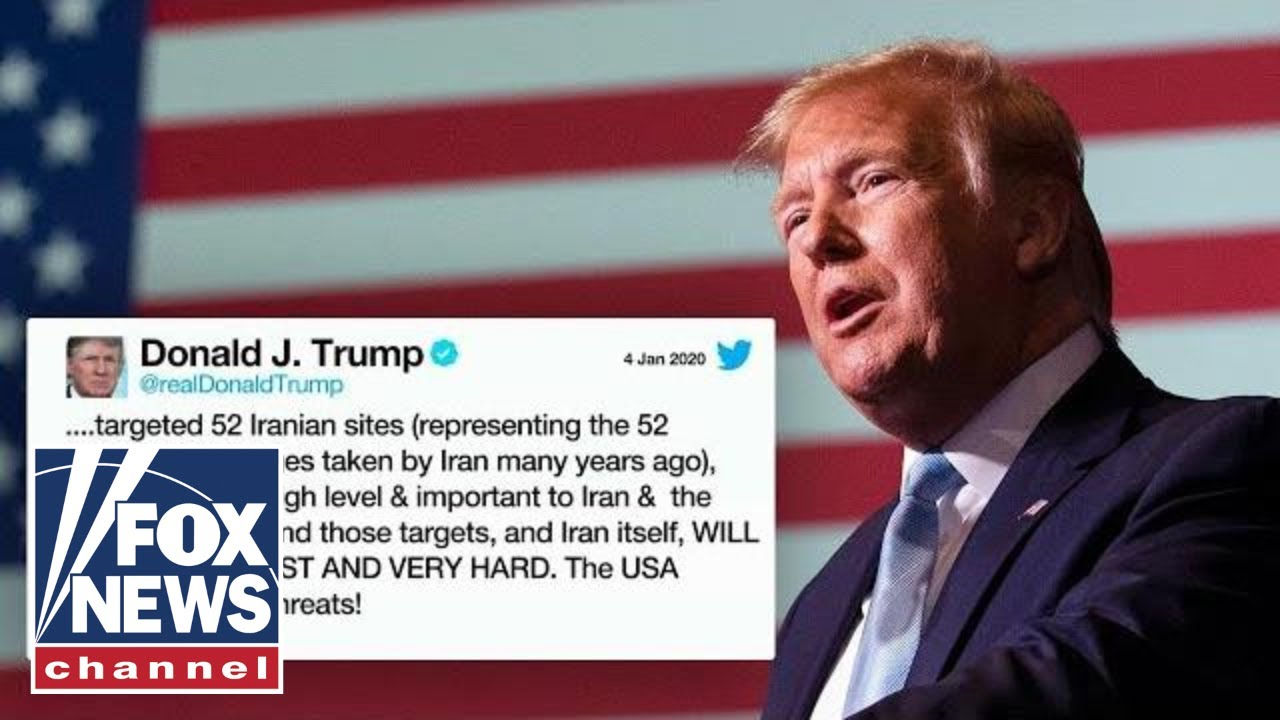 Trump says Iran will be hit 'very fast' if they strike American assets – YouTube