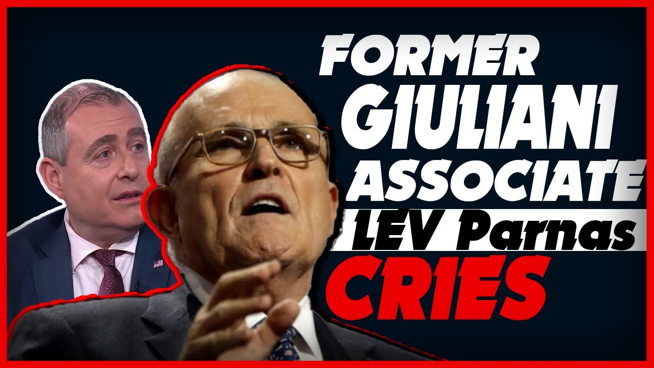 Former Giuliani Associate Lev Parnas Cries that Prosecutors Won't Even Talk to Him About a …. – YouTube