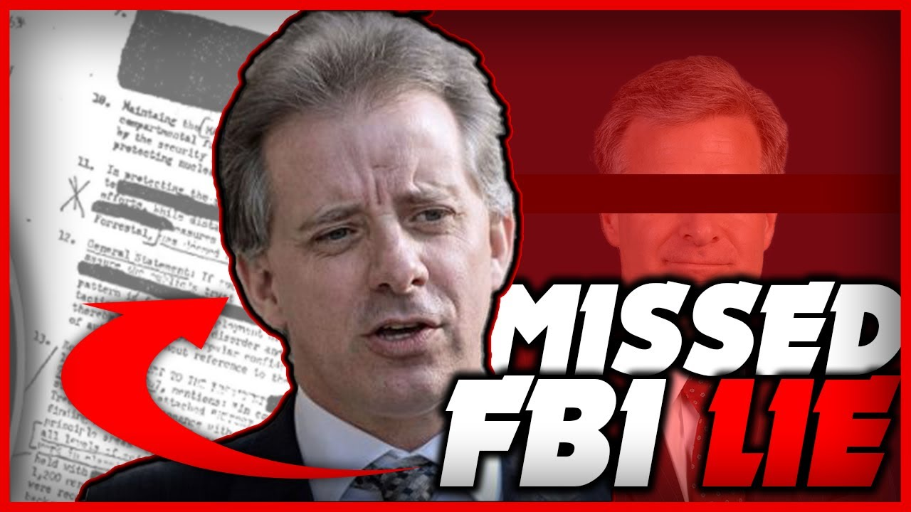 The Lie That the Inspector General missed, From FBI Regarding Steele Christopher | FBI Corruption – YouTube