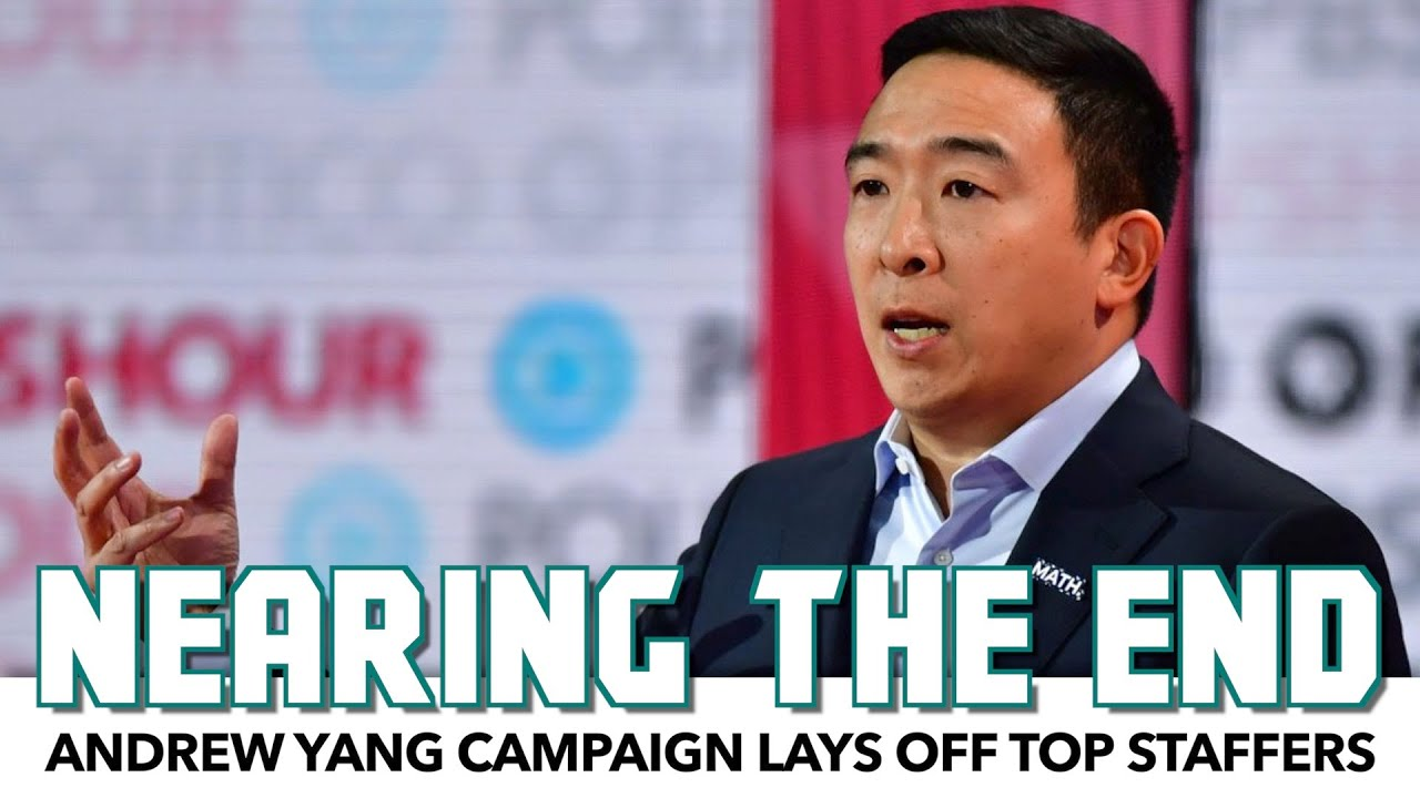 Andrew Yang Campaign Hints He's Dropping Out Soon