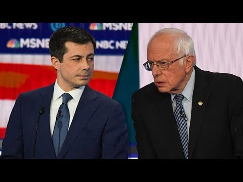 Bernie Casually Dismantles Smarmy Mayor Pete