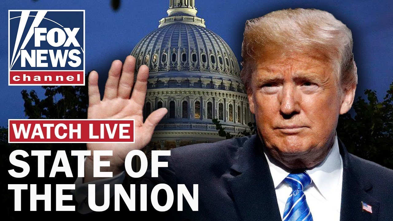 Live: Trump's State of the Union Address