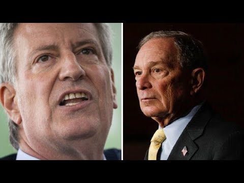 BILL DE BLASIO rips MICHAEL BLOOMBERG, Stop and Frisk while stumping for BERNIE SANDERS in Nevada