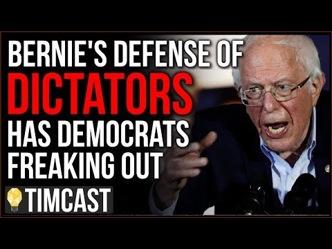 Democrats PANICKING Over Bernie Sanders's Defense Of Dictatorships, They Even Tried Blaming Trump
