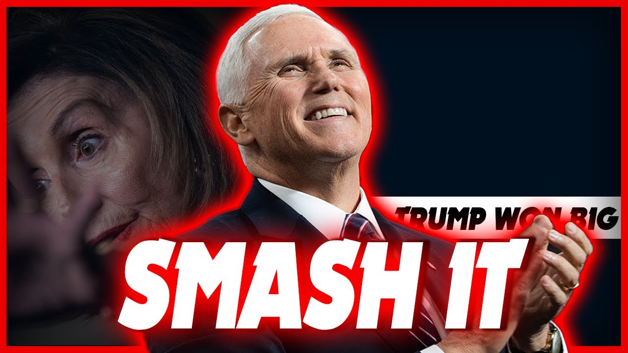 Mike Pence Reacts to Pelosi Ripping Trump's State of the Union
