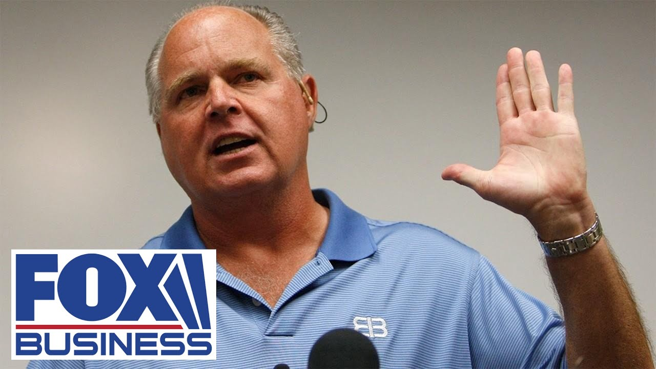 Rush Limbaugh says he has advanced lung cancer