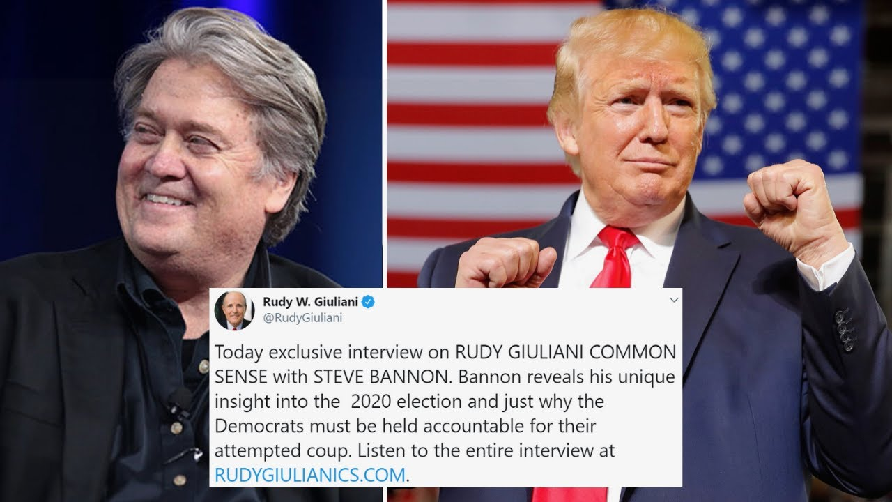 EXCLUSIVE Interview with Steve Bannon: 2020 Campaign, Ukraine, and Crooked Democrats