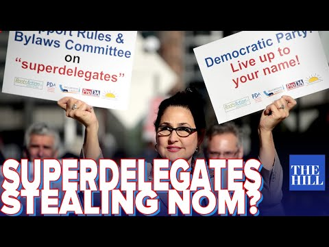 Krystal and Saagar: Superdelegates admit flagrant plan to take the nomination from Bernie