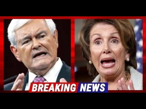 Minutes After Pelosi Tears Up Trump's Speech – Newt Gingrich Demands Congress To Censure Her