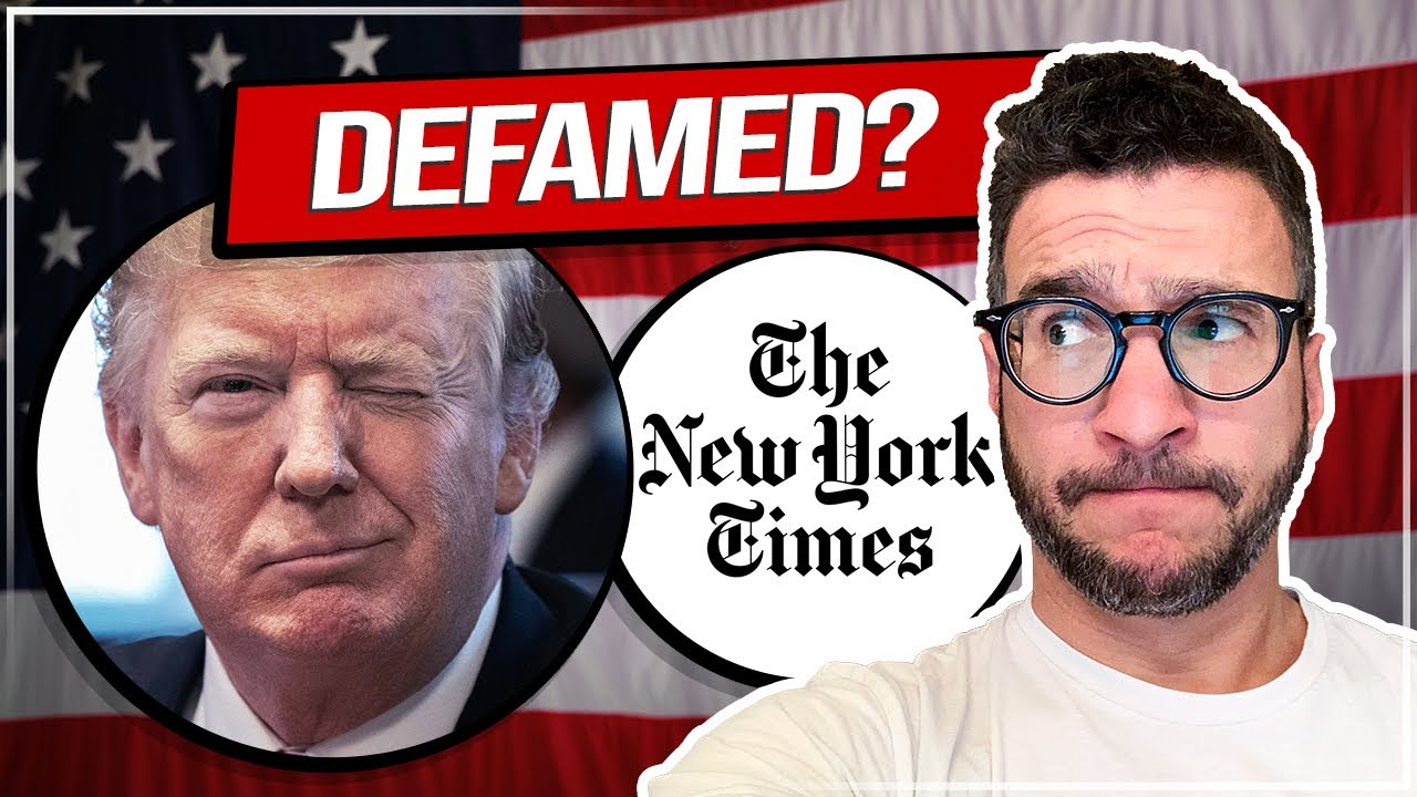 Why Trump's Defamation Suit Against NYT Will FAIL – Lawyer Explains – Viva Frei Vlawg
