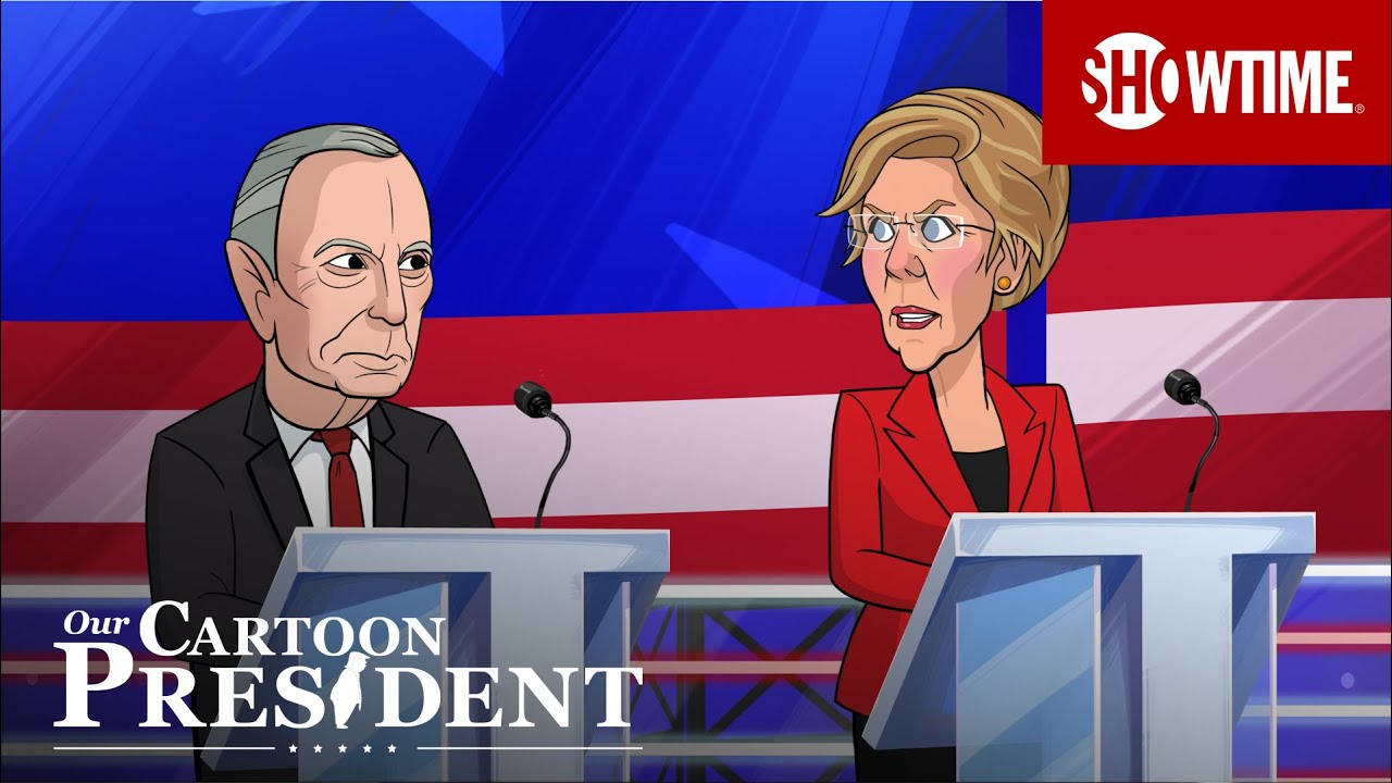 'Democratic Candidates Gang Up On Cartoon Mike Bloomberg' Ep. 305 Cold Open | Our Cartoon President