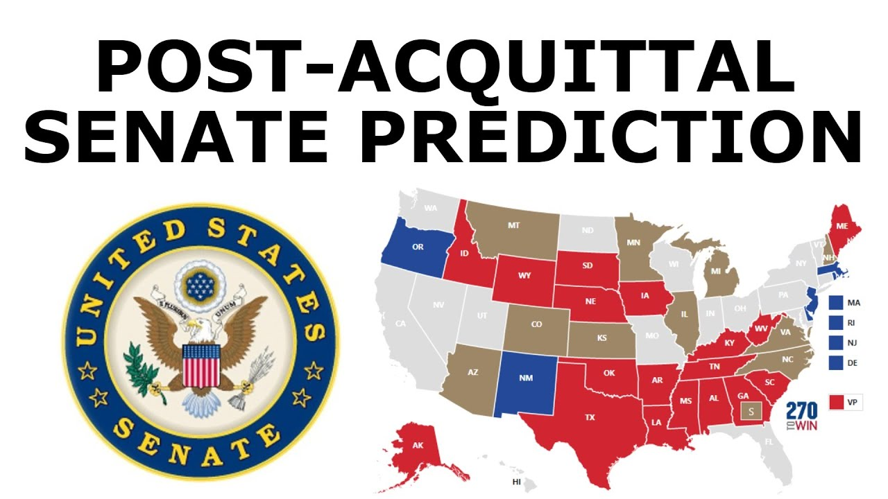Post-Acquittal 2020 Senate Prediction
