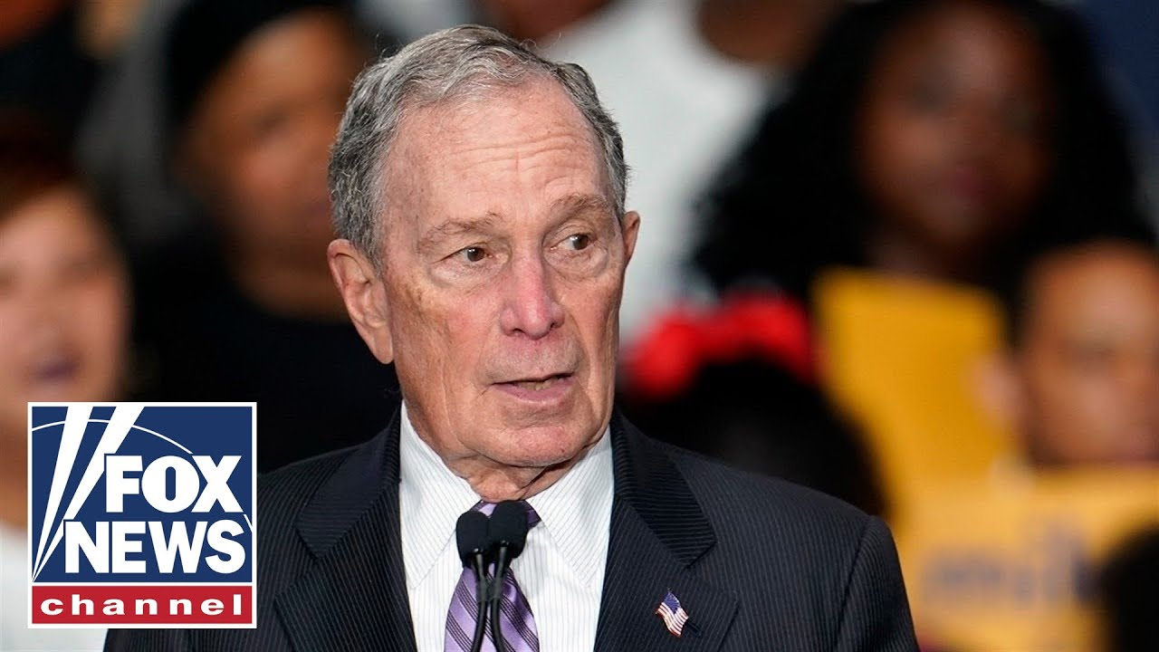 Bloomberg holds a rally in Utah