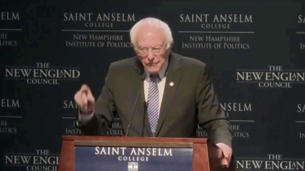 CAMPAIGN 2020: BERNIE SANDERS rips PETE BUTTIGIEG ties to billionaires in fiery NEW HAMPSHIRE speech