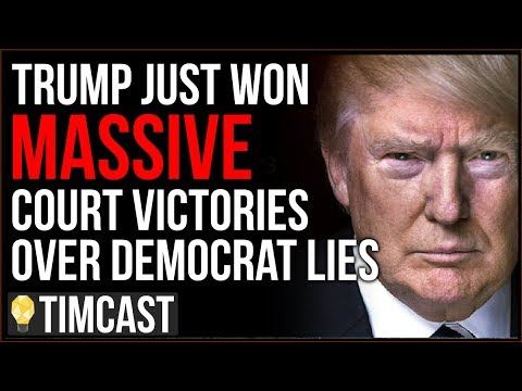 Trump Just Won MAJOR Court Victories Proving Impeachment Was BUNK, Trump's Nearing Vindication