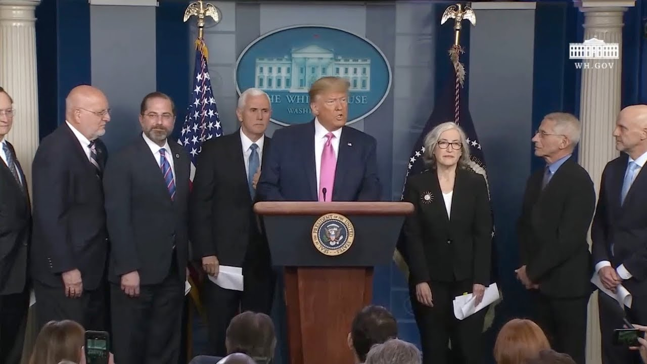 ? LIVE: President Trump Holds a Press Conference on Spread of Coronavirus in U.S. 2/29/20