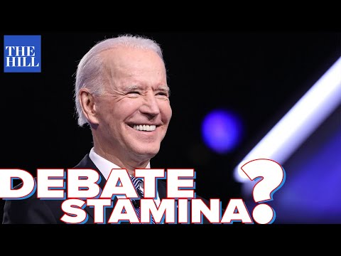 Can Biden handle a two-hour debate?